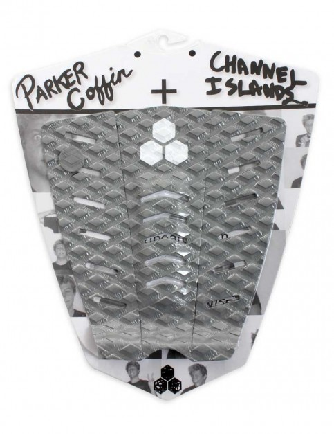 Channel Islands Parker Coffin surfboard tail pad - Grey