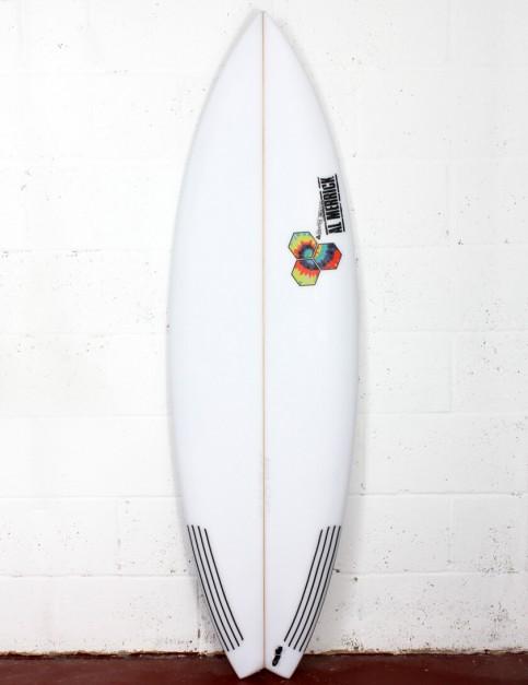 Channel Islands Rocket 9 surfboard 6ft 1 FCS II - White