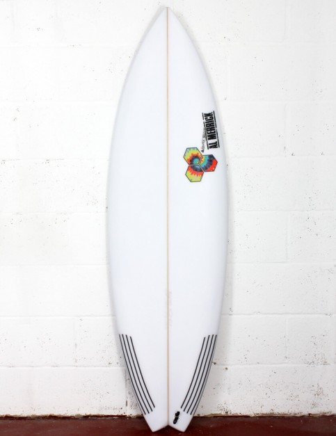 Channel Islands Rocket 9 surfboard 5ft 10 FCS II - White