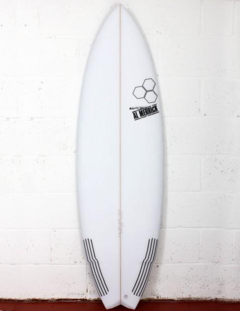 Channel Islands Weirdo Ripper Surfboard 5ft 8 FCS II - White