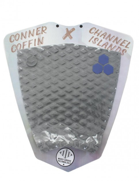 Channel Islands Conner Coffin Flat surfboard tail pad - Grey