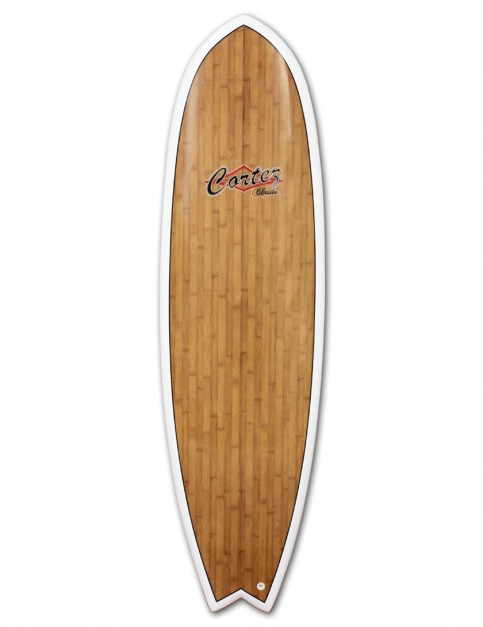 Cortez Fish Veneer surfboard 6ft 6 - Bamboo