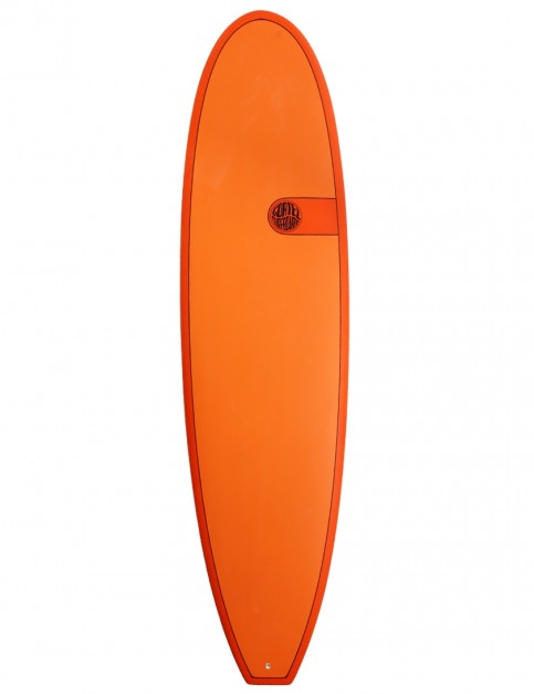 Cortez Funboard surfboard 7ft 2 - Hot Orange