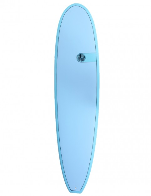 Cortez Funboard Mini Mal surfboard 8ft 0 - Ocean Blue