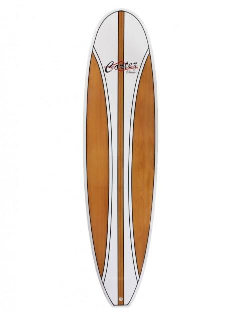 Cortez Fun Veneer surfboard 7ft 2 - Beech