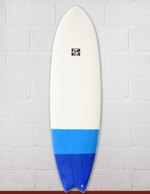 Cortez Fish surfboard 6ft 3 - Blue Dip