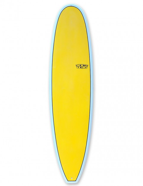 Cortez Funboard surfboard 7ft 6 - Sanded Yellow