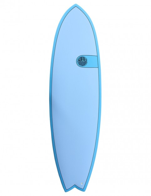 Cortez Fish surfboard 6ft 6 - Ocean Blue