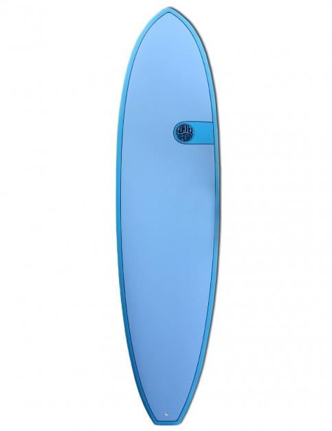 Cortez Funboard surfboard 8ft 0 - Ocean Blue