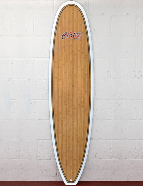 Cortez Fun Veneer surfboard 7ft 2 - Bamboo