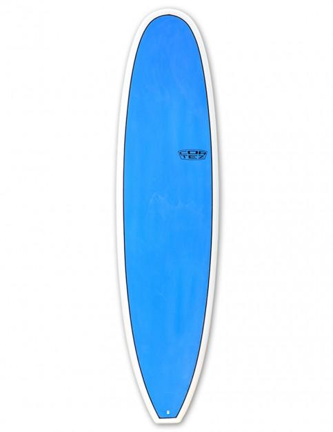 Cortez Funboard Mini Mal Surfboard 7ft 6 - Sanded Blue