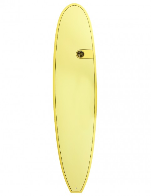 Cortez Funboard surfboard 8ft 0 - Yellow