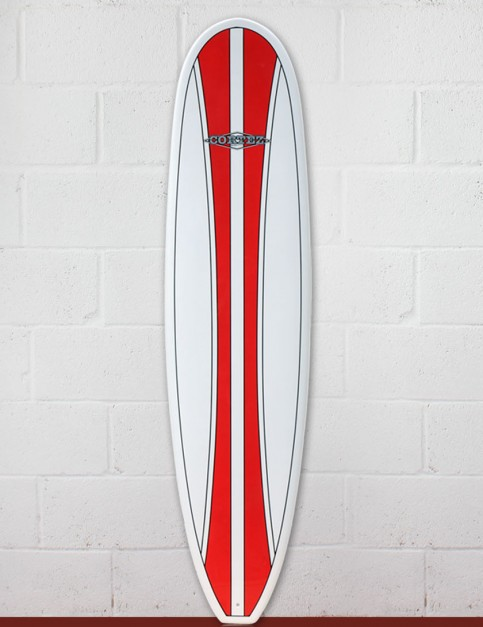 Cortez Funboard Surfboard 7ft 6 - Red