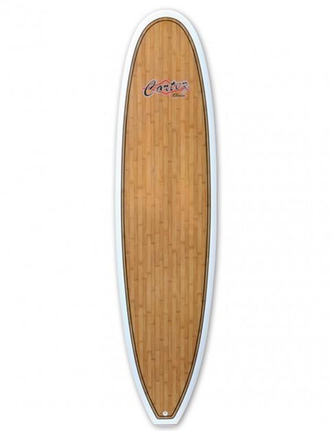 Cortez Fun Veneer Surfboard 7ft 6 - Bamboo
