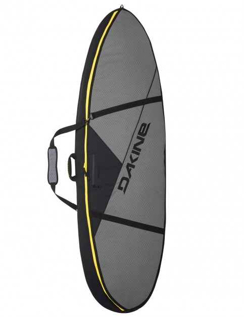 DaKine Recon Surf Double Thruster surfboard bag 10mm 6ft 6 - Carbon