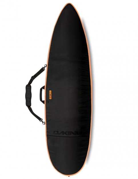 DaKine John John Daylight Thruster surfboard bag 8mm 6ft 3 - Black/Orange