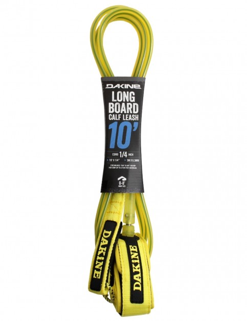 DaKine Longboard Calf surfboard leash 10ft - Sulphur