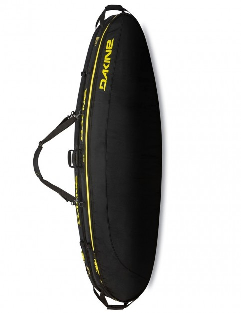 DaKine Regulator Double/Quad Convertible Thruster surfboard bag 10mm 7ft 0 - Black