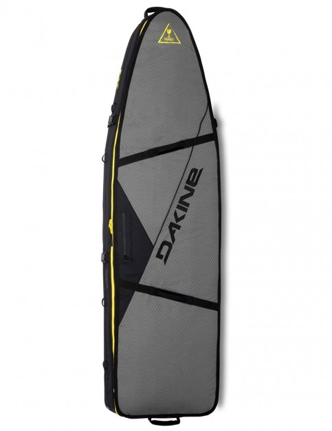 DaKine World Traveler Surf Quad Wheelie surfboard bag 10mm 7ft 6 - Carbon