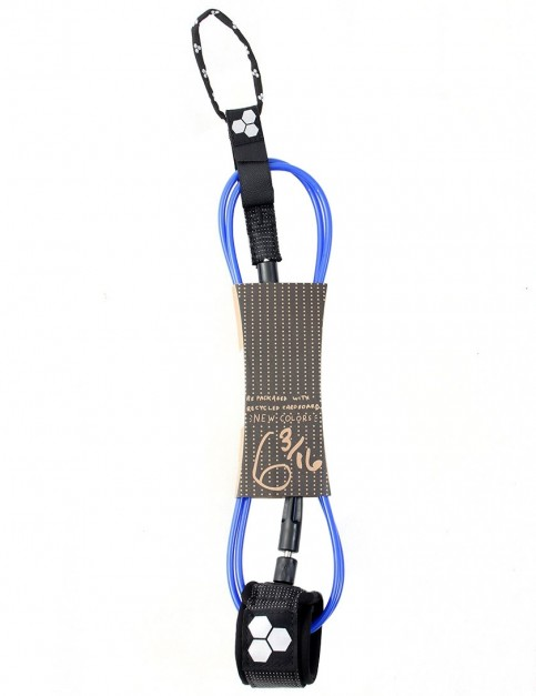 Channel Islands Dane Comp surfboard leash 6ft - Blue