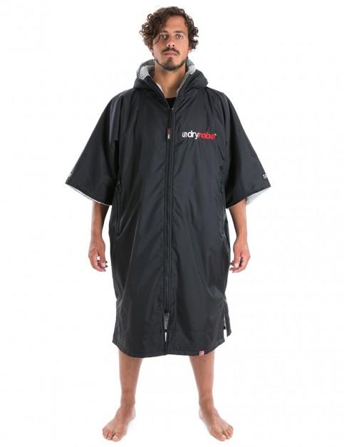 Dryrobe Advance Extra Large outdoor change robe - Black/Grey