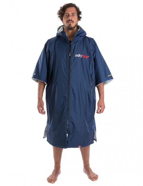 Dryrobe Advance Medium (adult slim size) outdoor change robe - Navy/Grey