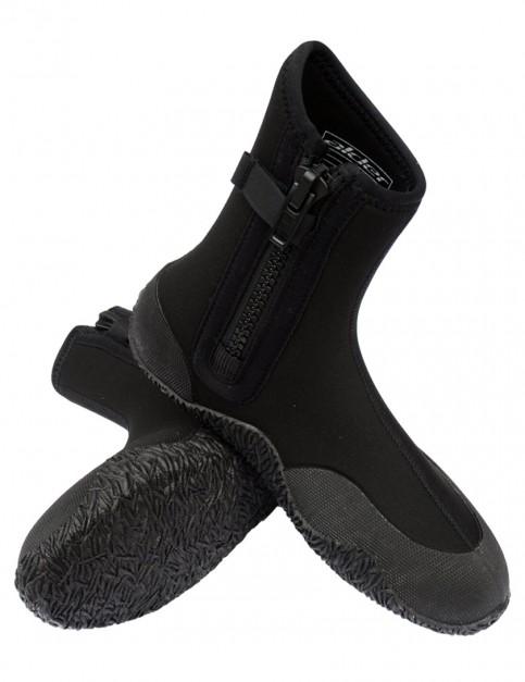 Alder Kids Edge Zipped 5mm Wetsuit Boots - Black