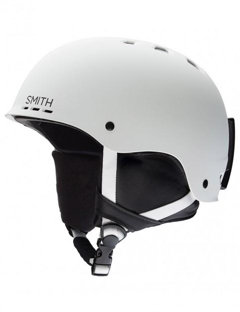Smith Holt  helmet - Matte White