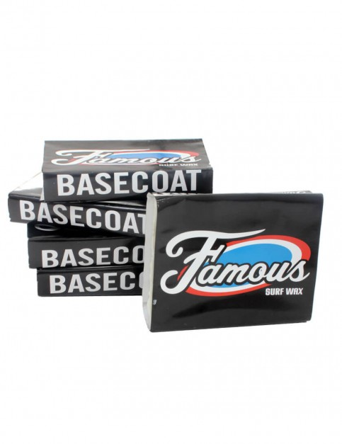 Famous Base Coat Surf Wax Pack (5 bars) - White