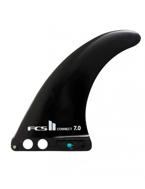 FCS II Connect GF 7.0 Longboard Fin - Black