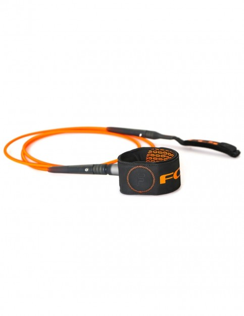 FCS Freedom surfboard leash 6ft - Orange