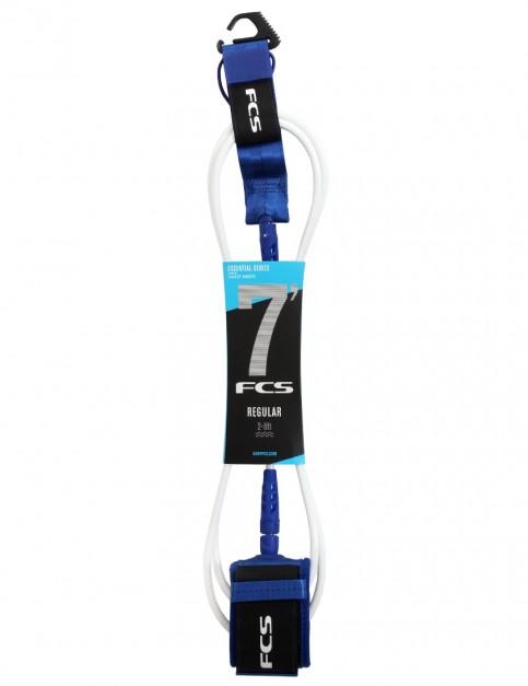 FCS Regular surfboard leash 7ft - Cobalt