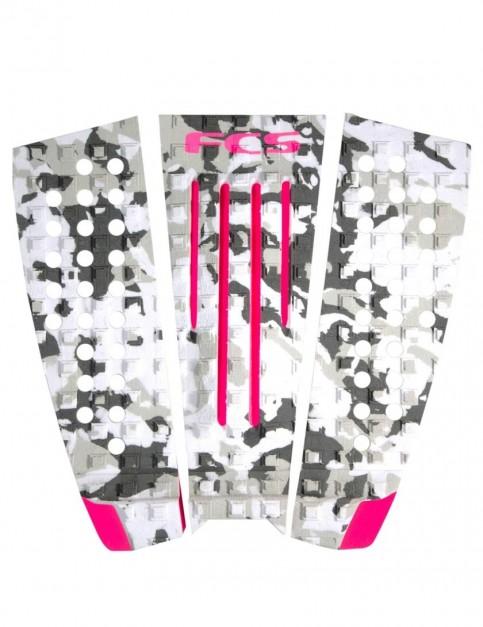 FCS Julian Wilson Surfboard Tail Pad - Pink/Camo