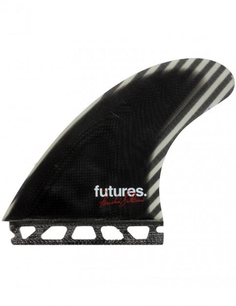 Futures Control Series Pancho Sullivan Tri Fins Large - Black