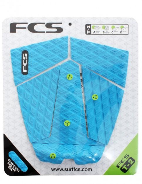 FCS T-2 Surfboard Tail Pad - Blue