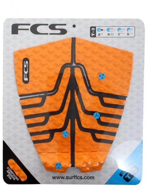 FCS T-3 Surfboard Tail Pad - Orange