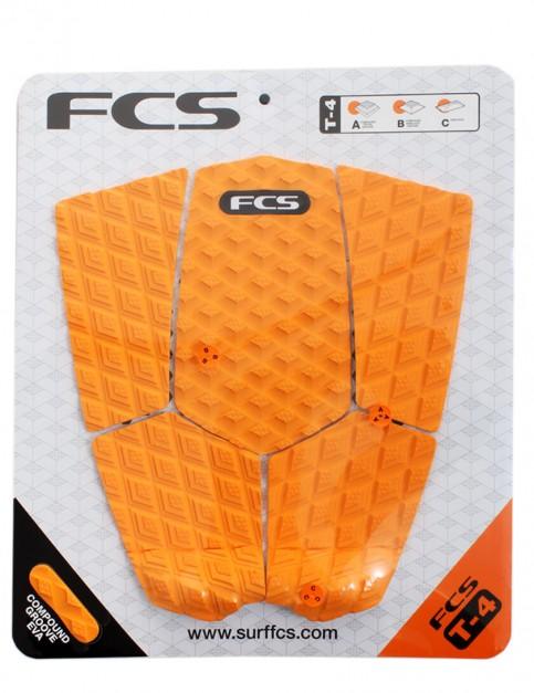 FCS T-4 Surfboard Tail Pad - Orange