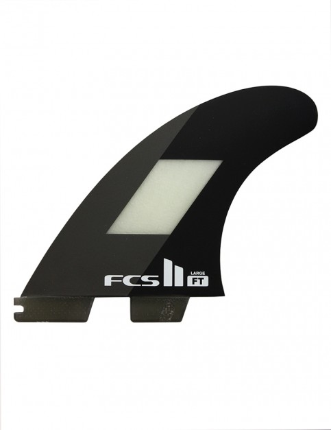 FCS II Filipe Toledo PC Tri Fins Large - Black