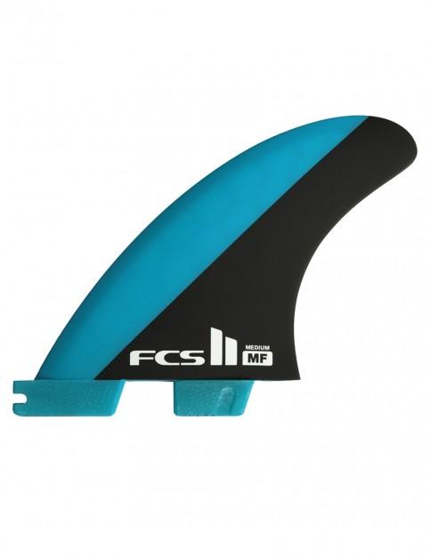 FCS II Mick Fanning PC Tri Fins Medium - Blue/Black
