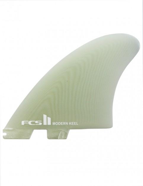 FCS II Modern Keel PG Twin Fins X Large - Clear