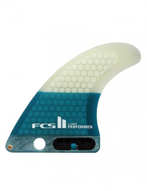 FCS II Performer PC Longboard Fin X Large - Teal