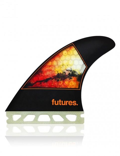 Futures Jordy Smith Honeycomb Tri fins Medium - Orange