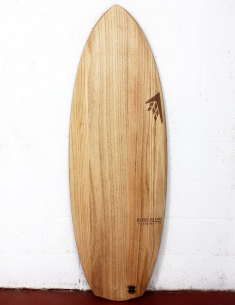 Firewire Timbertek Baked Potato Surfboard 5ft 5 Futures - Natural Wood