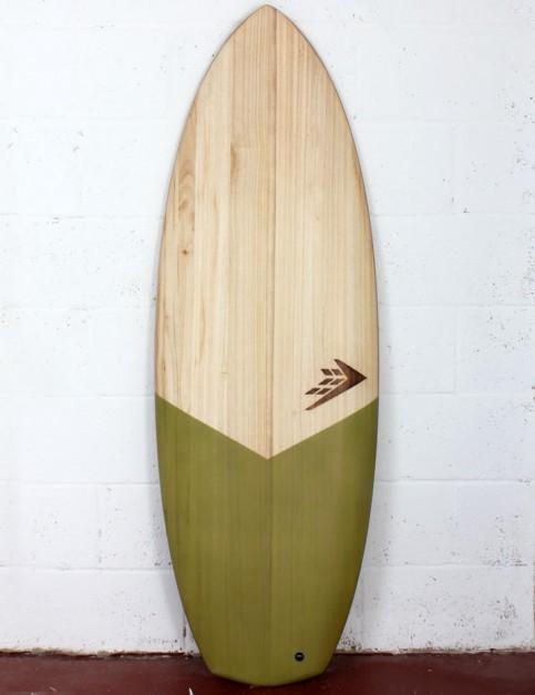 Firewire Timbertek Baked Potato Surfboard 5ft 5 FCS II - Natural Wood