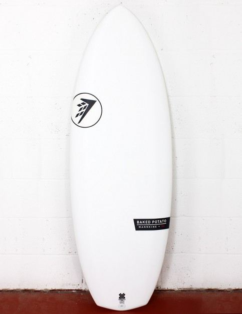 Firewire Helium Baked Potato surfboard 5ft 3 FCS II - White