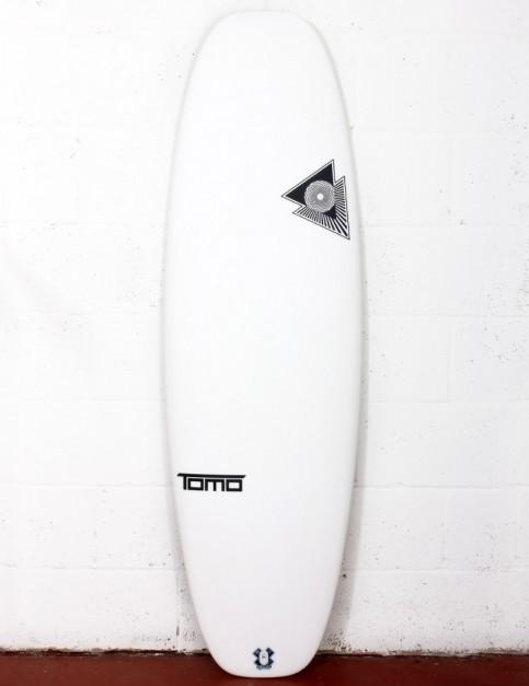 Firewire Helium Evo surfboard 5ft 4 Futures - White