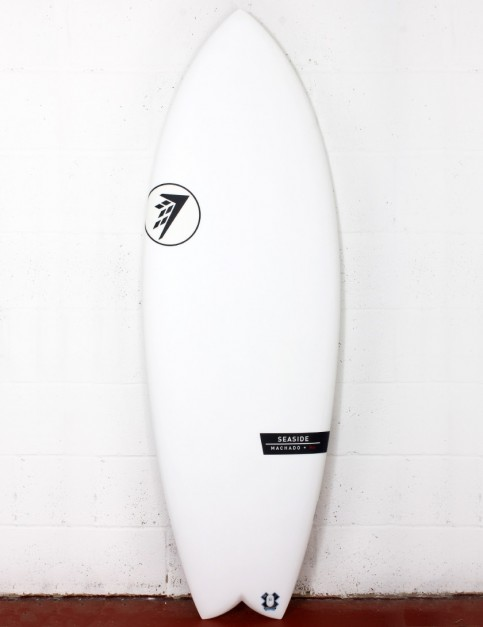 Firewire Helium Seaside surfboard 5ft 5 Futures - White
