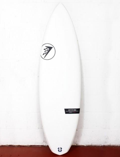 Firewire Helium Spitfire surfboard 6ft 0 Futures - White