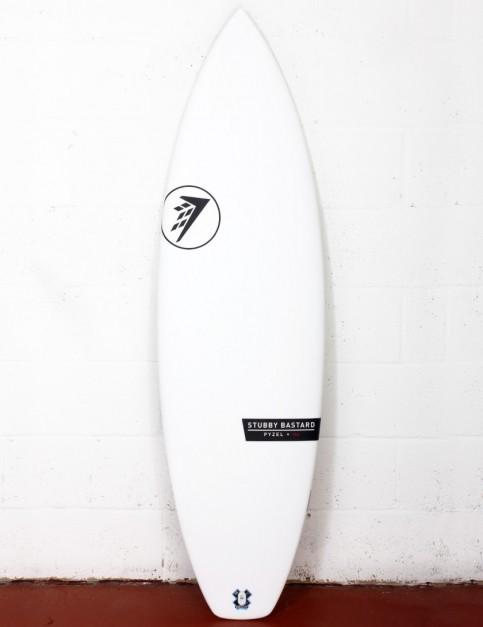 Firewire Helium Stubby Bastard surfboard 5ft 10 FCS II - White