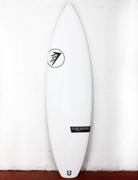 Firewire Helium Stubby Bastard surfboard 6ft 2 Futures - White